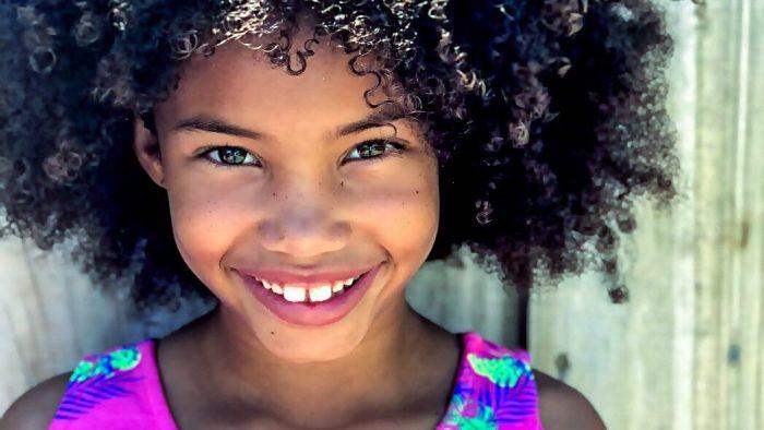 Young Girl Smiling Dental Sealants Grandville Pediatric Dentistry Mi